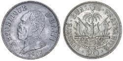 20 Centime Haiti 銅/镍