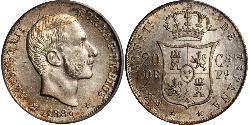 20 Centimo Philippines Silver