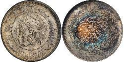 20 Chon Korean Empire (1897 - 1910) Silver