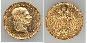 20 Corona Österreich-Ungarn (1867-1918) Gold Franz Joseph I (1830 - 1916)