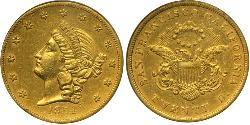 20 Dólar Estados Unidos de América (1776 - ) Oro