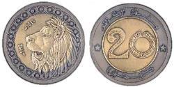 20 Dinar Algeria Bimetal