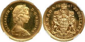 20 Dollar Canada Gold Elizabeth II (1926-)