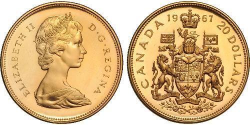 20 Dollar Kanada Gold Elizabeth II (1926-)