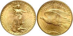 20 Dollar USA (1776 - ) Gold
