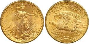 20 Dollar USA (1776 - ) Gold