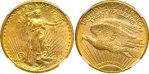 20 Dollar Vereinigten Staaten von Amerika (1776 - ) Gold