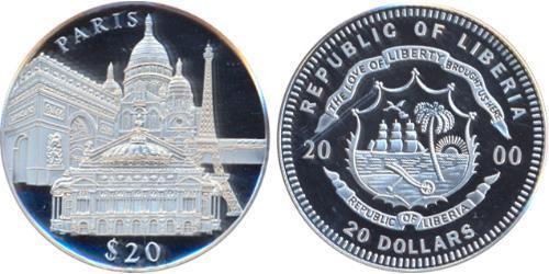 20 Dollar Liberia