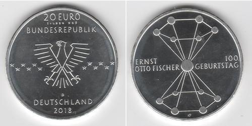 20 Euro 德国 銀