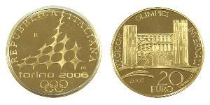 20 Euro Italy Gold