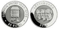 20 Euro Luxemburg Silber-Titan