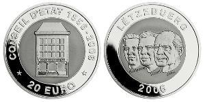 20 Euro Luxembourg Silver-Titanium