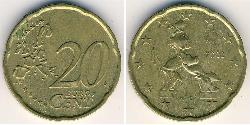 20 Eurocent Italy Bronze