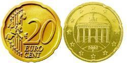 20 Eurocent Federal Republic of Germany (1990 - ) Tin/Aluminium/Copper/Zinc