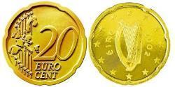20 Eurocent Ireland (1922 - ) Tin/Aluminium/Copper/Zinc