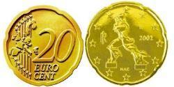 20 Eurocent Italy Tin/Aluminium/Copper/Zinc