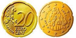20 Eurocent San Marino Tin/Aluminium/Copper/Zinc