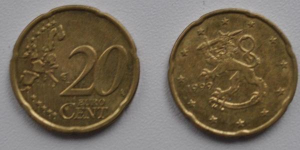 20 Eurocent Finlandia (1917 - )