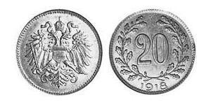 20 Florin Austria-Hungary (1867-1918) Iron