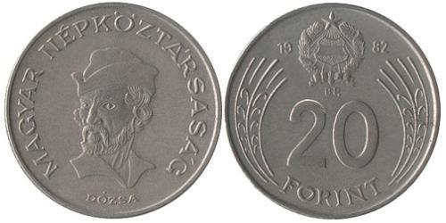 20 Forint Hungary (1989 - ) Copper/Nickel