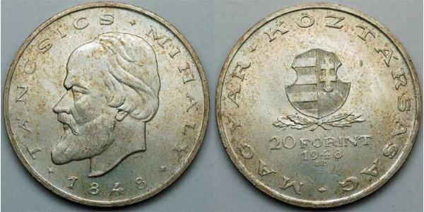 20 Forint Hungría (1989 - )