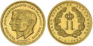20 Franc 卢森堡 金
