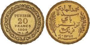 20 Franc Tunisia 金