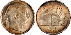 20 Franc 比利时 銀