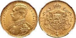 20 Franc Belgium Gold