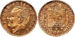20 Franc Liechtenstein Gold
