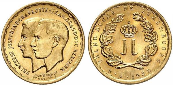 20 Franc Luxembourg Gold