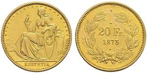 20 Franc Suisse Or
