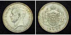 20 Franc Belgien Silber Albert I. (Belgien) (1875 - 1934)