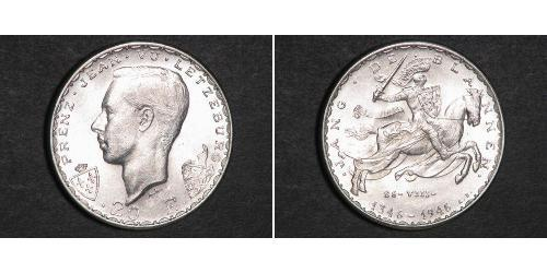 20 Franc Luxembourg Silver