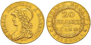 20 Franc 意大利
