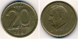 20 Franc Belgium