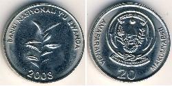 20 Franc Rwanda
