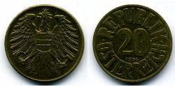 20 Grosh Allied-occupied Austria (1945-1955) Bronze/Aluminium