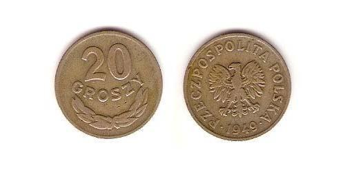 20 Grosh Polen Kupfer/Nickel