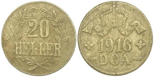 20 Heller Africa Orientale Tedesca (1885-1919) Rame