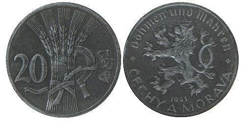 20 Heller Bohemia Zinc