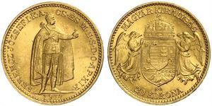 20 Korona Kingdom of Hungary (1000-1918) Gold Franz Joseph I (1830 - 1916)