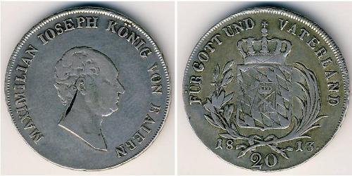 20 Kreuzer Deutschland Silber