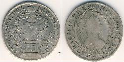 20 Kreuzer Austria  Silver