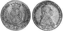 20 Kreuzer Electorate of Bavaria (1623 - 1806) Silver