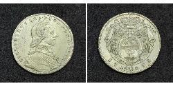 20 Kreuzer Salzburg Silver Count Hieronymus von Colloredo (1732 - 1812)