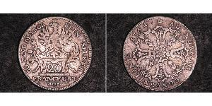20 Kreuzer States of Germany Silver