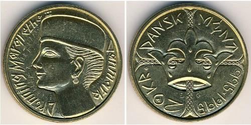 20 Krone Danemark Bronze/Aluminium