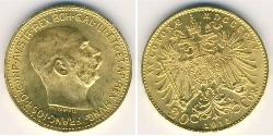 20 Krone Austria  Gold