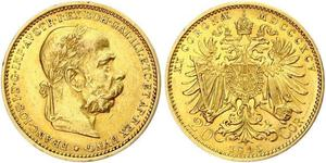 20 Krone Austria-Hungary (1867-1918) Gold Franz Joseph I (1830 - 1916)